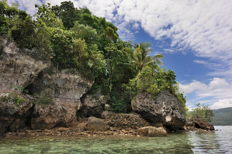 Очередной необитаемый островок.