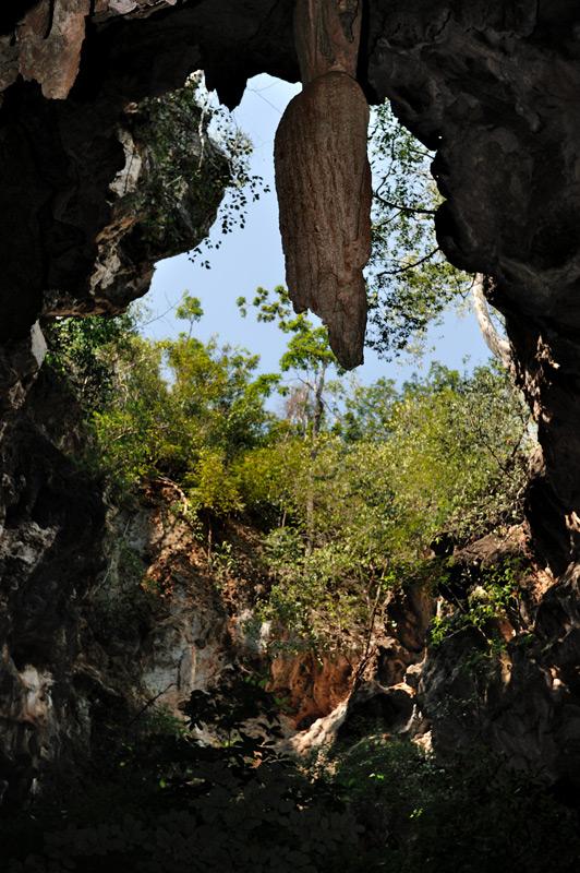 И, раз уж довелось проникнуть под землю, сразу обозреем пещеру Сай (Sai), расположенную в пределах все того же национального парка.