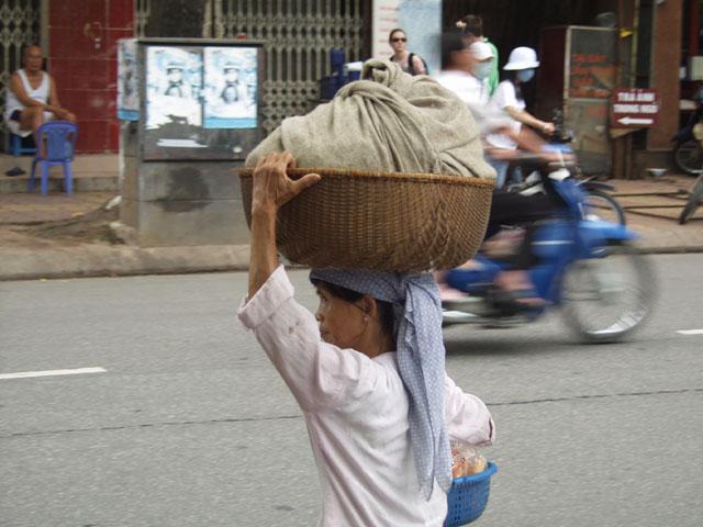 Местный вариант грузовой шляпы.