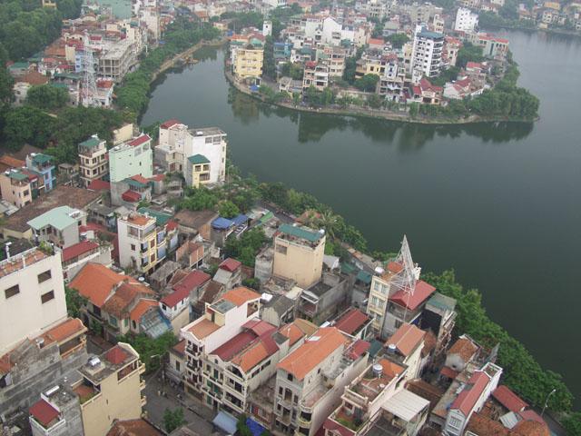 Центр вьетнамской столицы. Весьма приятное место.