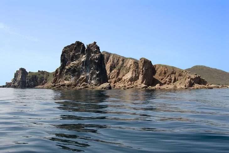 Цель нашего путешествия - остров Желтухина.