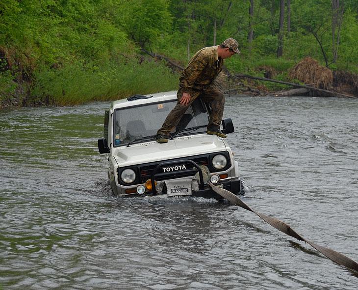 Чего только не водится в наших реках.