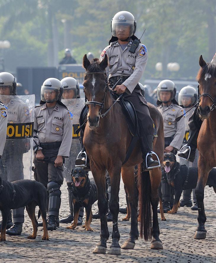 Помятуя участь генерала Сухарто, нынешний президент Индонезии, похоже, уделяет немалое внимание полицейским силам своей многолюдной страны. Сытые полицейские - опора азиатской демократии.