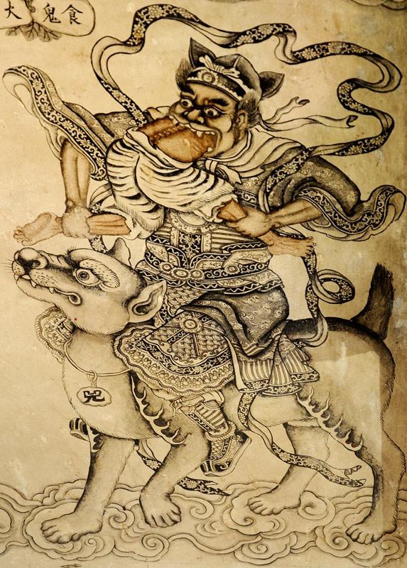 А уж роспись на стенах некоторых храмов способна доставить удовольствие истинному мизантропу.