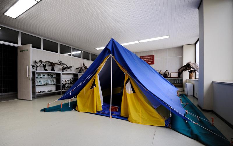 Приобщиться к жизни в палатке пионерам также разрешается. Есть походы в горы (посмотрев на эти горы чуть не сдох от зависти). Предварительно с постановкой палатки упражняются в помещении.