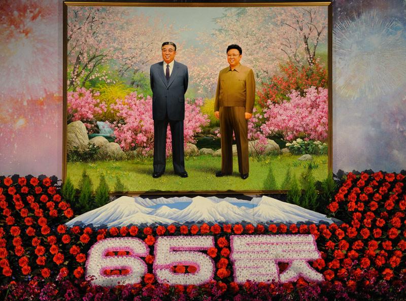 Выставка цветов в честь 65-летия ТПК.