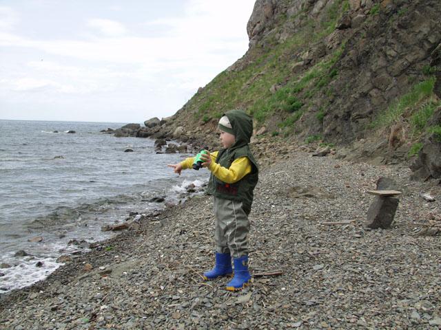 Марк первый раз в жизни оказался на островах.