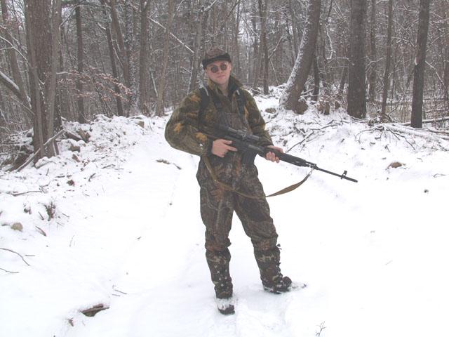 Снайперская винтовка это конечно круто, однако, с моим зрением лучше брать с собой снайперский гранатомет.
