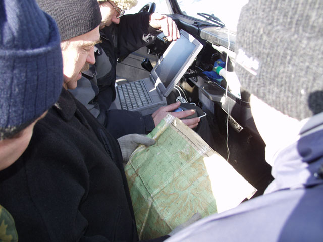 Настоящий научный подход к делу. Подробные карты, компутеры и прочие GPS.