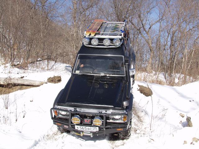 Зимние дороги располагают к лирическому настроению.