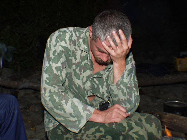 Что-то пели про Козлодоева... К сожалению, запас спиртного быстро иссяк.