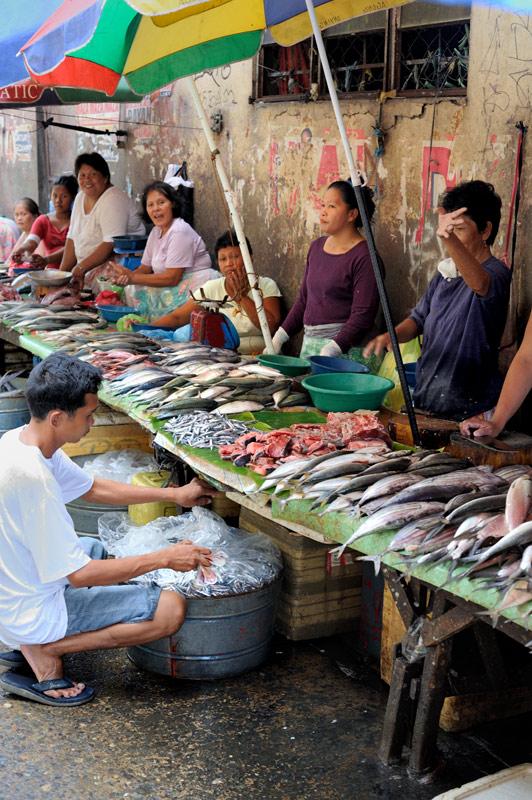 Не исключаю, что большей частью это продукция аквакультуры, а не улов местных рыбаков.