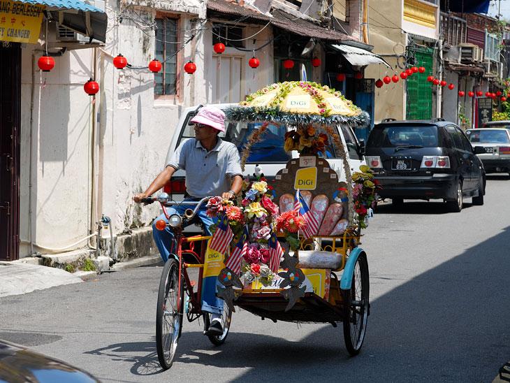 Рикша сам отвезет вас во все любопытные места города и будет терпеливо ждать, пока вы исследуете развалины или торгуетесь в лавке.